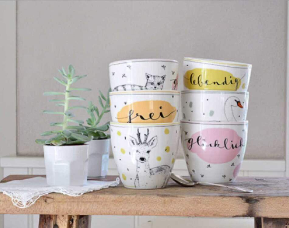 Tassen von Ann-Kathrin Blohmer